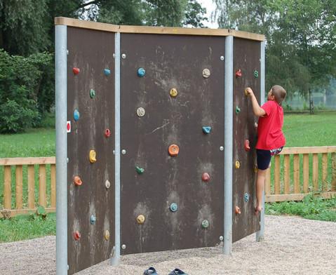 Free-Climbing-Wand Dreifache Wand beidseitig-5