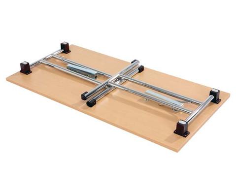Klapptisch 160 x 80 cm T-Fuss-Gestell-2