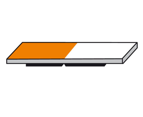 Lehrermagnet 10 x 30 mm halb farbig-halb weiss-3
