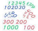 Grosse Zahlenkarten 1 - 1000-7