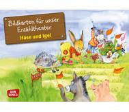 Bildkarten: Hase und Igel
