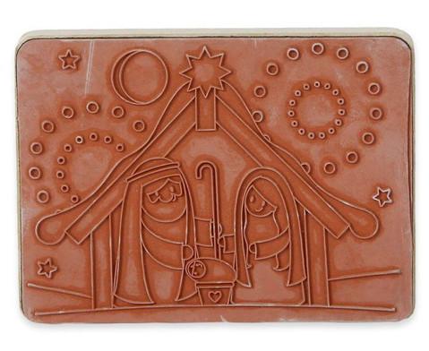 Holzstempel Krippe-3