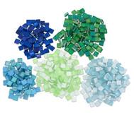 Mosaiksteine Softglas nachtleuchtend & glitter