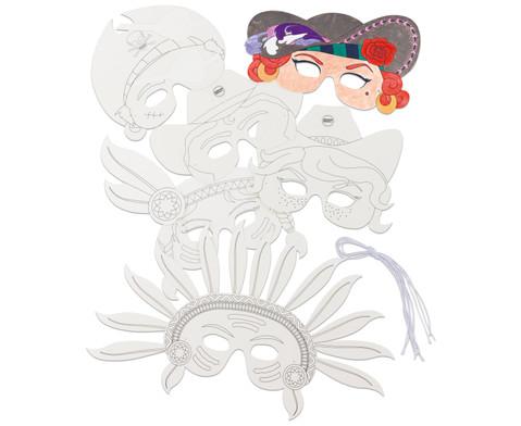Pappmasken Wilder Westen