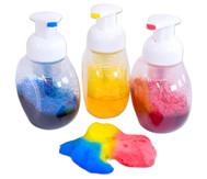 Schaumfarbflaschen
