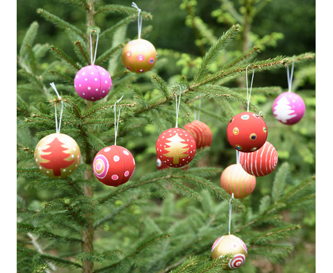 Papp-Weihnachtsanhaenger 12 Stueck-7