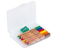 Buntstifte 6er Set inkl Spitzer