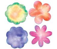 Filterpapier in Blumenform mit Pipetten für AquaTint