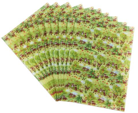 Transparentpapier DIN A4 verschiedene Motive-16