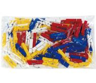 Beutel mit 100 Klammern zu Colorclips