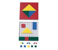 Steckplättchen  200 St  in 5 Farben