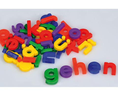 48 Magnetbuchstaben klein