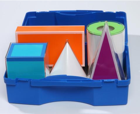 Geometrische Koerper aus Plexiglas-3