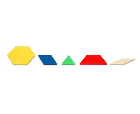 Pattern-Blocks aus Kunststoff oder Holz-5