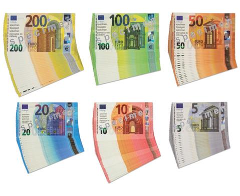 Betzold Euro-Geldscheine fuer Schueler