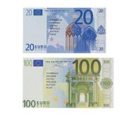 Euro-Geldscheine für Schüler