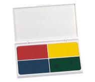 Stempelkissen, 4-farbig
