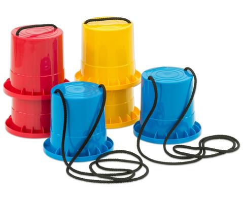 Lauf-Stelzen 3er-Set blau - rot - gelb-1