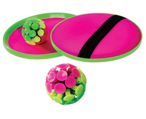 Stick-Ball-Set 2 Handteller 1 Stick-Saugnapfball-1