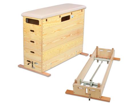 Sprungkasten mit Schwenkrollen-Unterbau-2
