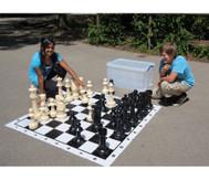 Jumbo Schach, für drinnen und draussen