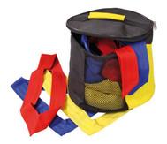 30 Mannschaftsbänder Juniorgrösse in Tasche