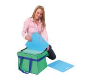 Tasche für Sitzkissen und Teppichfliesen