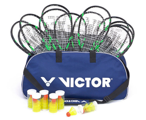 Speed-Badminton Schulset mit Tasche-2