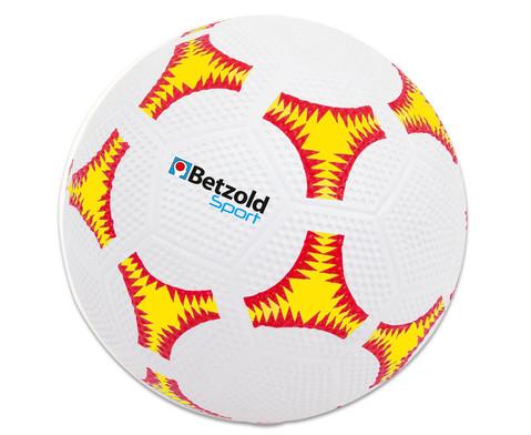 Schulhof-Fussball gelb