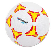 Schulhof-Fussball, gelb