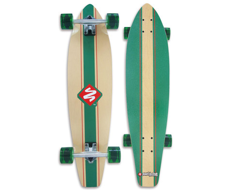 Longboard Kicktail 36 Infinity Green-2