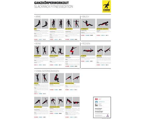 Gibbon Slackline-Gestell Slack Rack Fitness-9