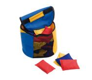 Tasche mit Netz-Einsatz, 14 Liter Inhalt