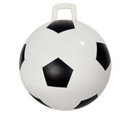 Hüpfball im Fussball-Design