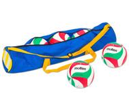 Schul-Volleyball-Set mit Tragetasche