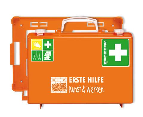 Erste-Hilfe-Koffer SN - Bereich Kunst  Werken