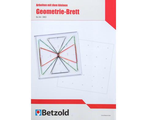 Arbeiten mit dem Geometrie-Brett