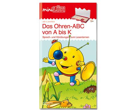 miniLUEK Das Ohren-ABC von A - K