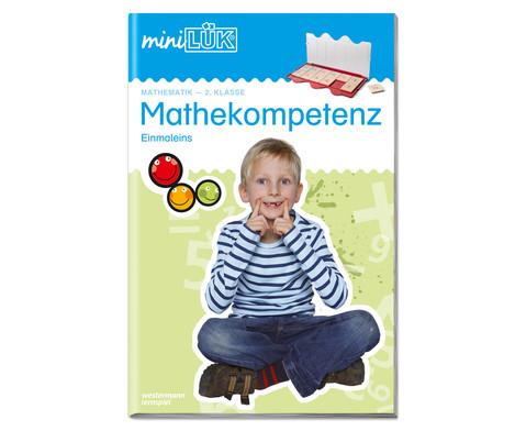 miniLUEK Mathekompetenz ab 2 Klasse