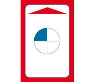 Einfache Brüche erkennen & benennen - Kartensatz für den Magischen Zylinder