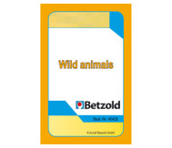 Wild Animals - Kartensatz für den Magischen Zylinder