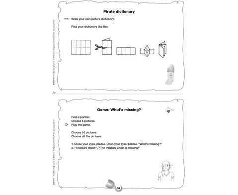 Lernen an Stationen im Englischunterricht - Pirates and Prepositions-4