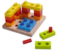 Steckspiel Farbenspaß
