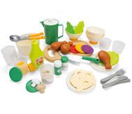 Geschirr- und Essensset, 63 Teile