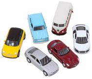 6 verschiedene Modellautos 1:60