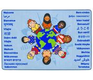 Kinder der Welt - Willkommensteppich
