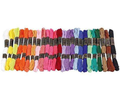 Stickgarn in 25 Farben je 8 Meter