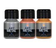 Metallic-Farben, 3er-Set