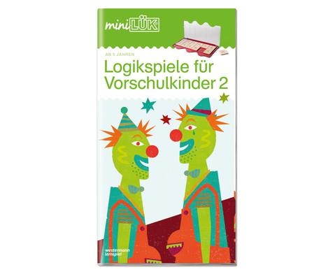 miniLUEK-Heft Gehirnjogging fuer Vorschulkinder 2