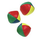Satz mit 3 Kinder-Jonglier-Bällen